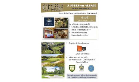 Cette année, c'est en Alsace que nous vous emmenons découvrir les superbes golfs du  Kempferhof, La Wantzenau ainsi que le Golf du Rhin. Séjour dépaysant assuré !